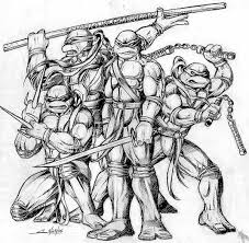 coloring page cool ninja drawings cool anime ninja drawings