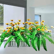 Fake Sunflowers Fake Mini Cactus Plants