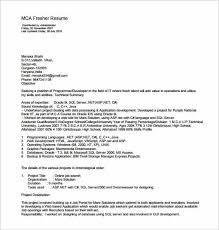 mca resume format for freshers pdf job resume template pdf mca resume template for fresher pdf