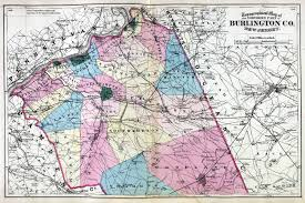 Washington Map With Cities by New Jersey Historical Maps