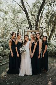 black bridesmaid dresses black chiffon mismatched eleagnt wedding bridesmaid dresses