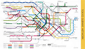 Tokyo Metro Map by Traveling Around Misawa Japan Tokyo Train And Subway Maps