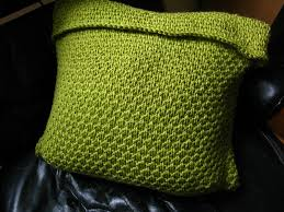 Knitted Cushion Cover Patterns Littletheorem Pea Soup Cushion