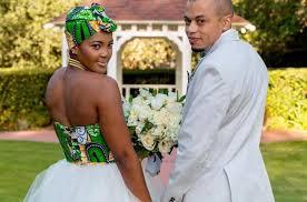 mariage africain inspiration mariage africain la symbolique du pagne dans la
