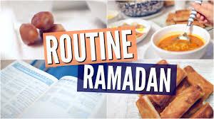 cuisine du ramadan routine du ramadan
