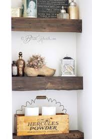 Wooden Shelves For Bathroom 100 Year Barn Wood Shelves Wood Shelf Barn Wood And Bliss
