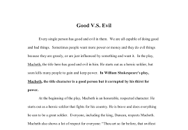 macbeth vs evil gcse marked by teachers com
