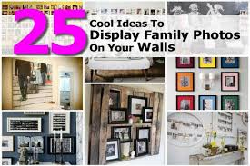 25 cool ideas to display family photos on your walls just simply me