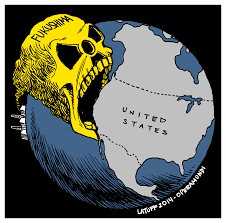 Fukushima Fallout Map by Fukushima Latuff Cartoons