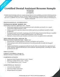 dental resume exles emt resume sle dental assistant resume exles sle emt ideas