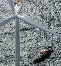 wind turbine is the world u0027s biggest at 722 feet daily mail online
