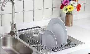 Kitchen Sink Dish Rack Kitchen Sink Dish Drainers Charming Light The Sink Kitchen