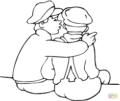 friends coloring page free printable coloring pages