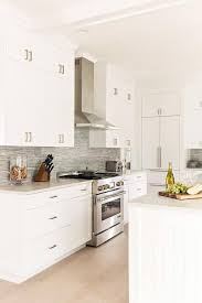 white shaker kitchen cabinets wood floors blond wood floors frame white shaker cabinets adorning
