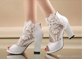 wedding shoes for 2015 cheap wedding shoes with kitten heels peep black white