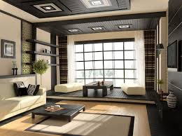 living room furniture cabinets black red paint wall nice wall decoration japanese style living room