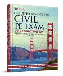 civil pe exam study material online learn civil engineering