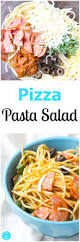 pizza pasta salad for picnics and bbqs mom on the side