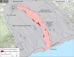 Map Of Southeastern Usa by Usgs Volcano Hazards Program Hvo Kilauea