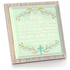 irish thanksgiving prayer irish blessing porcelain plaque plaques u0026 signs hallmark