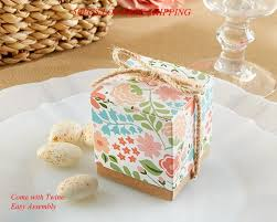 How To Make Decorative Gift Boxes At Home 50pcs Lot Wedding Box Of Vintage Floral Favor Box