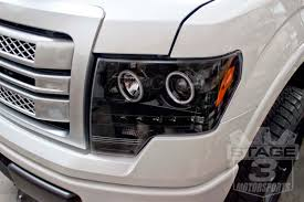 2012 ford f150 projector headlights 2009 2013 f150 raptor s3m recon lighting package smoked r0913rlp