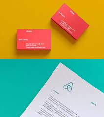 Business Card Logos And Designs New Logo And Identity For Airbnb By Designstudio The Mark Doesn U0027t