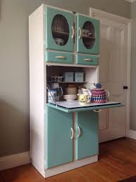 Vintage Kitchen Furniture 1950s Vintage Kitchen Larder Cupboard Cabinet Kitchenette