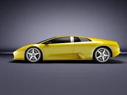 Lamborghini Murcielago 2008 - lamborghini murcielago side by jjokin on deviantart