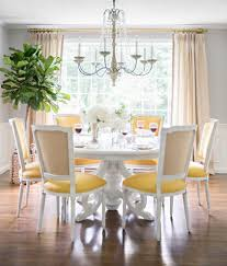 boston french dining chairs room transitional with indoor plants