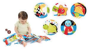 lights u0026 music first book crib toys yookidoo