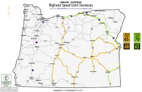 map of hwy 58 oregon higher speed limits fewer places to pass on oregon highways