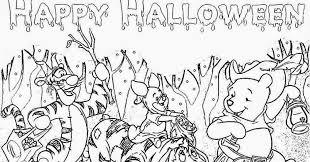 winnie pooh halloween coloring pages u2013 halloween wizard