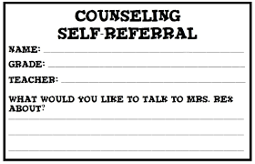 individual counseling documents elementary counseling