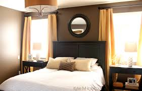 bedroom breathtaking white covered bedding black floor lamp
