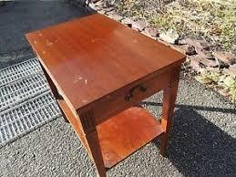 Mersman End Table Vintage Mersman 7641 End Table W Drawer Ebay