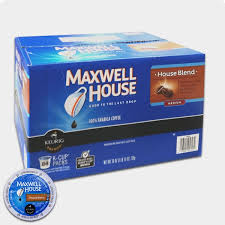 maxwell house house blend coffee keurig k cups