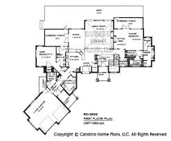 prairie style house plans large craftsman style house plan crft 2953 sq ft luxury home