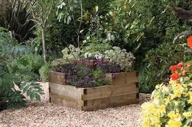 raised bed garden ideas planter designs ideas