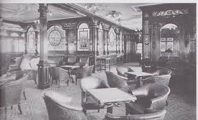 Titanic First Class Dining Room Passenger Life Aboard The Titanic Diana Overbey