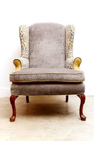 Velvet Wingback Chair Design Ideas Velvet Touch Wingback Chairs Fabrics And Etsy