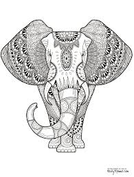 coloring page free printable animal coloring pages for adults