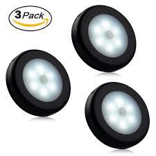 Bathroom Sensor Lights by Tontec 6 Led Motion Sensor Night Light Stick On Anywhere Motion