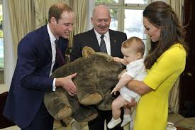royal tour in 40 pictures kate middleton prince william and baby