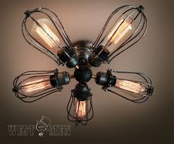 Caged Ceiling Fan With Light Elegant Photos Of Ceiling Fan With Cage Furniture Designs