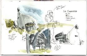 la tourette convent by le corbusier urban sketchers