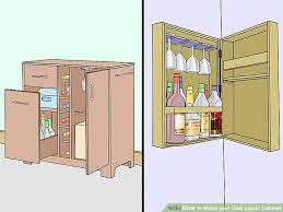 Building A Liquor Cabinet How To Make Your Own Liquor Cabinet 13 Steps With Pictures