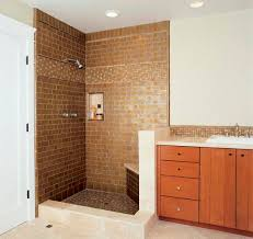 inspiring tiles ideas determine the overall look and feel creative brick tile shower idea and contemporary bathroom cabinets small vanity faucet design
