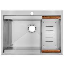 30 Kitchen Sinks by Perfetto Kitchen And Bath 30 U2033 Top Mount Single Bowl Handmade 16