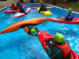 kayak pool classes with wet planet whitewater